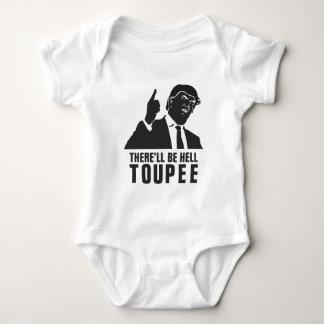 Donald Trump 2016 - Es gibt lustiger Hölle Toupee Baby Strampler