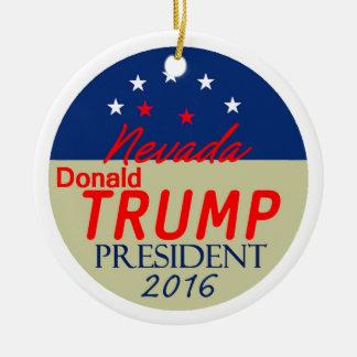 Donald Trump 2016 Keramik Ornament