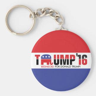 Donald Trump 2016 - Rednecken für Donald Trump! Schlüsselanhänger