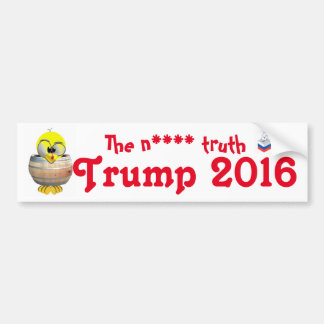 Donald Trump Autoaufkleber