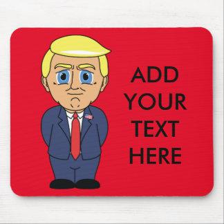 Donald Trump, der eingebildet schaut Mousepad