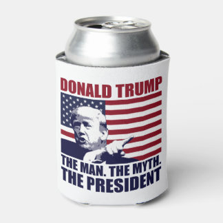 Donald Trump der Mann der Mythos der Präsident Dosenkühler