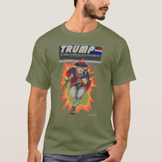 Donald Trump - ein wirklicher AMERIKANISCHER T-Shirt