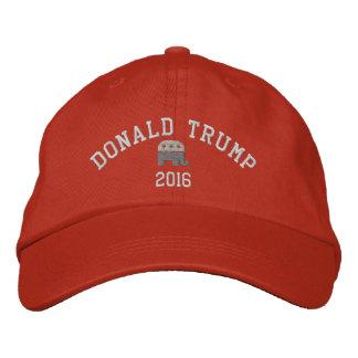 Donald Trump - Elefant 2016 Präsidenten GOP Bestickte Kappe