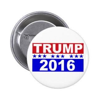 Donald Trump für Präsidenten 2016 Runder Button 5,7 Cm