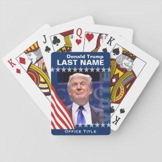 Donald Trump für Präsidenten 2016 Spielkarten