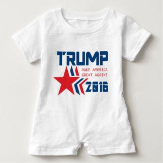 Donald Trump für Präsidenten Baby Strampler