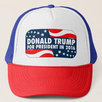 Donald Trump für Präsidenten im Jahre 2016 Truckerkappe