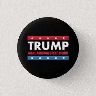 Donald Trump für Präsidenten Runder Button 3,2 Cm