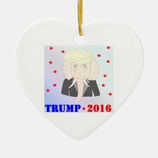 Donald Trump Keramik Ornament