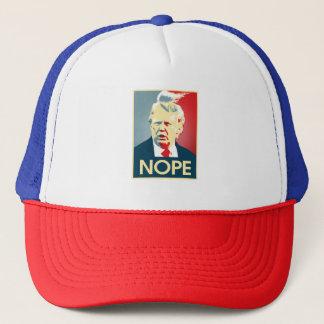 Donald Trump NOPE -- Anti-Trumpf 2016 - Truckerkappe