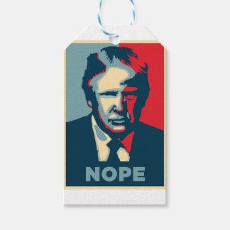 Donald Trump nope Geschenkanhänger
