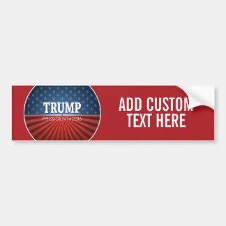 Donald Trump - Präsident 2016 Autoaufkleber