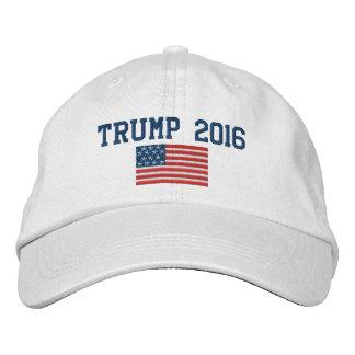 Donald Trump - Präsident 2016 mit amerikanischer Bestickte Baseballmützen