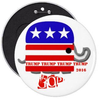 Donald Trump Runder Button 15,3 Cm