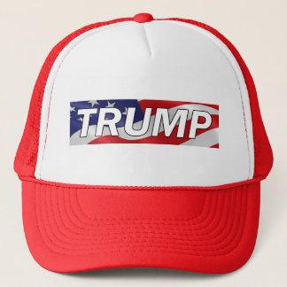 Donald- TrumpFlagge-Fernlastfahrer-Hut #MAGA Truckerkappe