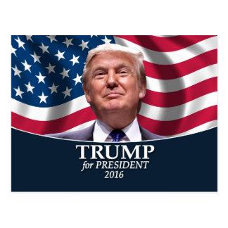 Donald- TrumpFoto - Präsident 2016 Postkarte