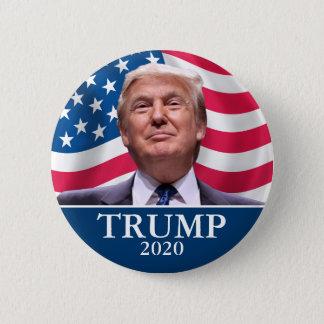 Donald- TrumpFoto - Präsident 2020 - genug sagte Runder Button 5,7 Cm