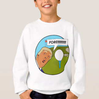 Donald- Trumpgolf Sweatshirt