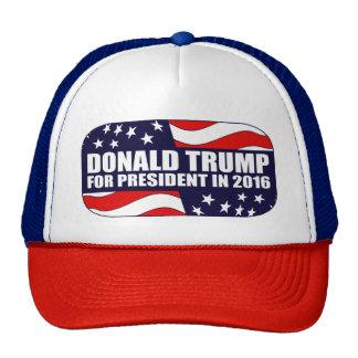 Donald- Trumppräsident 2016 Cap