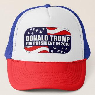 Donald- Trumppräsident 2016 Truckerkappe