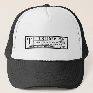Donald- TrumpWarnschild Truckerkappe