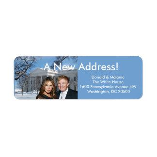 Donald u. Melania: Eine neue Adresse