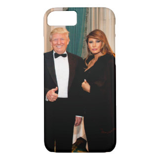 Donald- u. Melania-Trumpf iPhone 8/7 Hülle