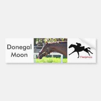 Donegal-Mond Autoaufkleber