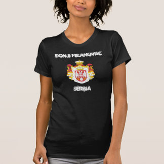 Donji Milanovac, Serbien mit Wappen T-Shirt
