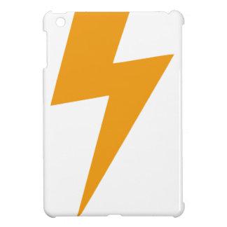 Donner-Energie-Gelb-Druck iPad Mini Hülle