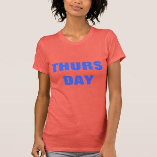 Donnerstags-T - Shirt