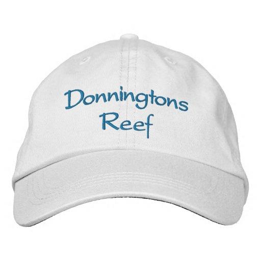 Donningtons Riff-justierbarer Hut Bestickte Baseballmützen