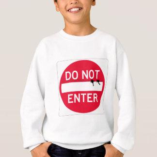 donotenterpair sweatshirt