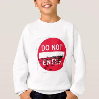 donotenterspread sweatshirt