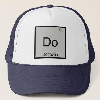 Donovannamenschemie-Element-Periodensystem Truckerkappe