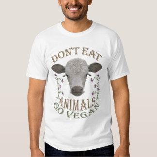 DON'T EAT ANIMALS - GO VEGAN - 01m T Shirt