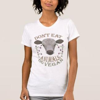 DON'T EAT ANIMALS - GO VEGAN - 01w Shirt