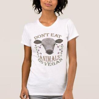 DON'T EAT ANIMALS - GO VEGAN - 01w T Shirts