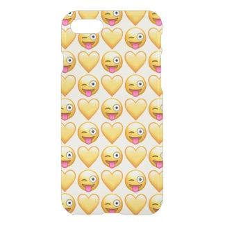 Doof Emoji iPhone 8/7 Clearly™ Fall iPhone 8/7 Hülle