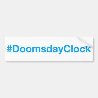 #DoomsdayClock Autoaufkleber