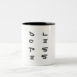 Dopeless Kaffee-Tasse Zweifarbige Tasse