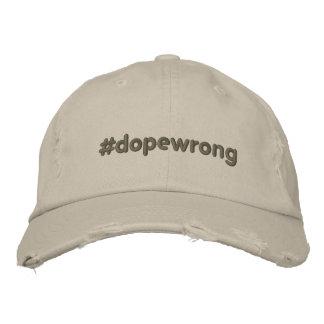 #dopewrong baseballmütze