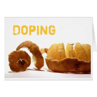 Doping Karte