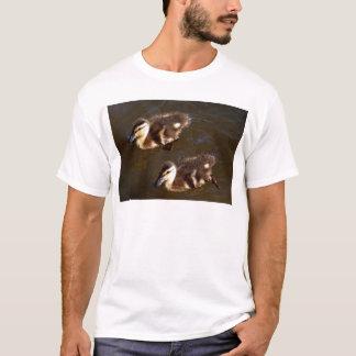 Doppelbaby-Stockenten T-Shirt