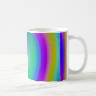 Doppelbrechendes Muster Kaffeetasse