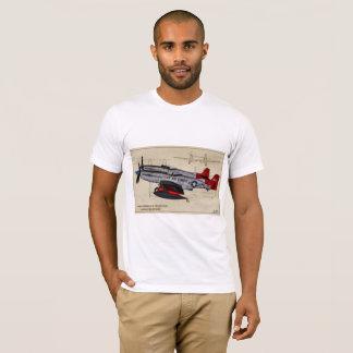 Doppelprofil-Shirt des mustang-F-82 T-Shirt