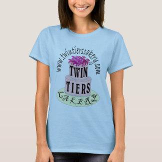 Doppelreihen Cakery LogoShirt-womens T-Shirt