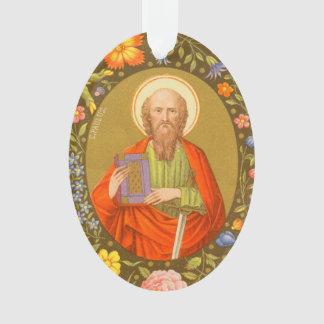 Doppelseitiges Acryl St Paul (P.M. 06) Ornament