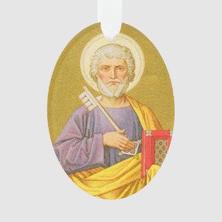 Doppelseitiges Acryl St Peter (P.M. 07a) Ornament